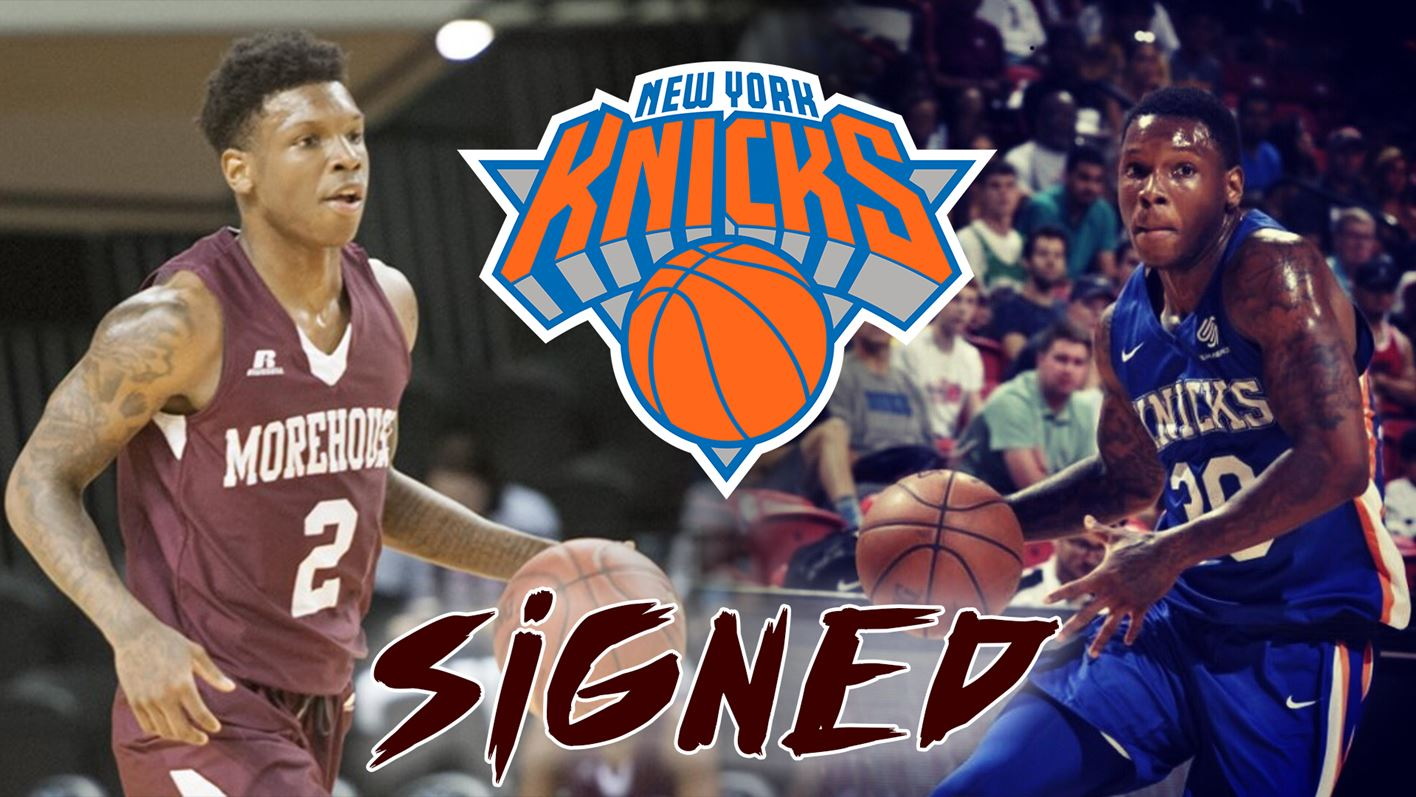 Former Morehouse Standout Tyrius Walker Signs With New York Knicks Morehouse College Athletics