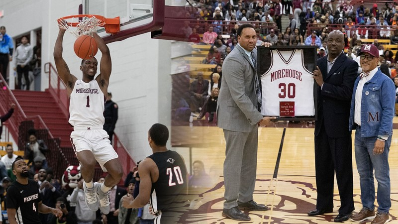 Morehouse Beats Clark Atlanta On Harold Ellis Day Morehouse College Athletics